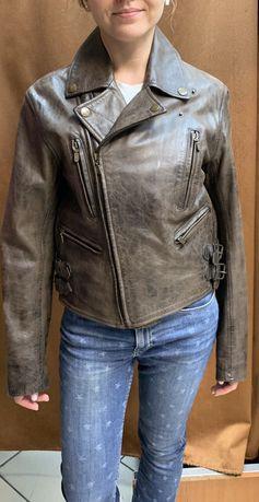 СРОЧНО!Продам женскую кожаную куртку Belstaff оригинал