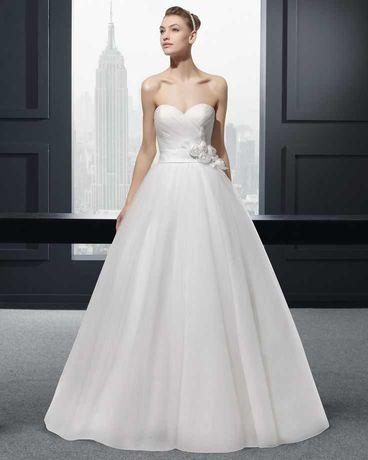 Vestido Noiva Rosa Clará