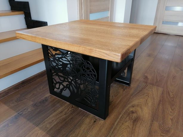 stolik kawowy ława stojak loft rustykalny