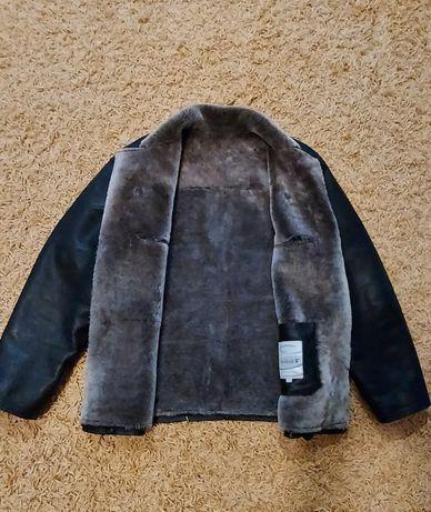 Мужская зимняя куртка дубленка