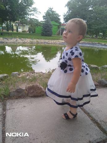 Платье детское, нарядное
