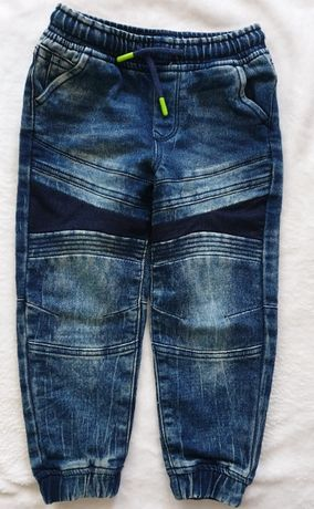 Lupilu spodnie jeansowe jersey 110cm