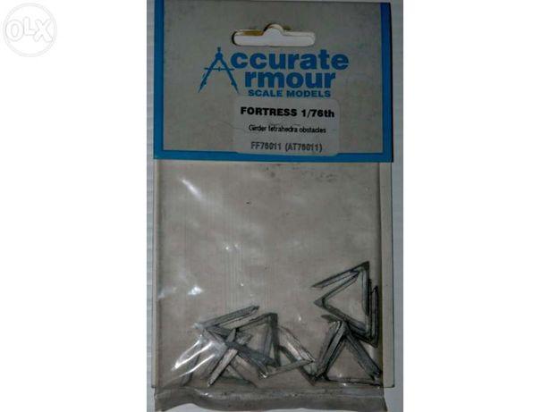 Modelismo - Kit - Tetrahedra anti-tank obstacles da Accurate Armour à
