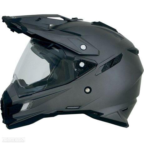 capacete afx fx-41ds adventure frost gray