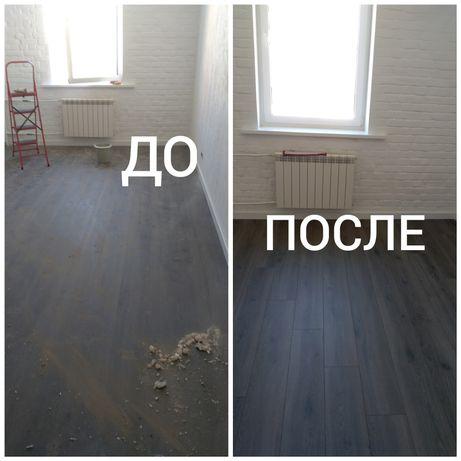 Уборка после ремонта квартир, домов, офисов. По лучшим ценам в Киеве.
