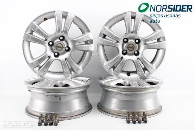 Conjunto de jantes de alumínio Opel Corsa D|06-10
