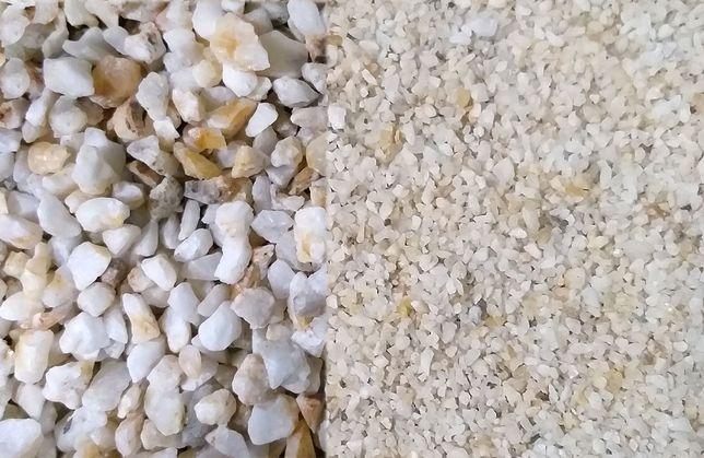 Кварцевый песок разных фракций (грунт). Базальт / на развес