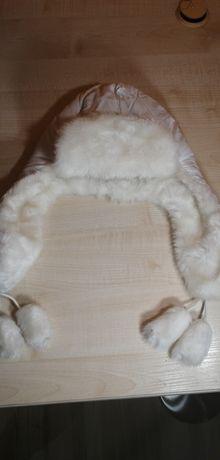 Ciepła czapka na zime dla dziewczynki