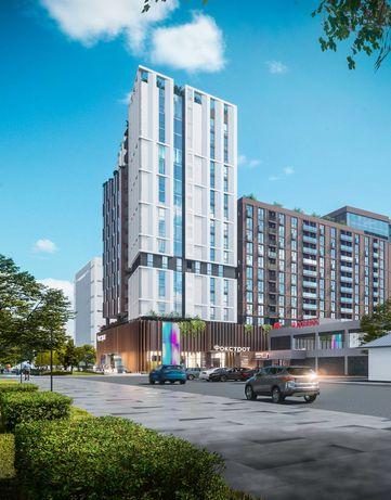 Новострой апартаменты 35,71 кв.м ЖК Capital Tower