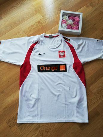 Nike koszulka piłkarska treningowa Polska Orange 2009 rozmiar L