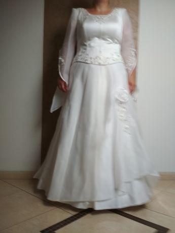 Suknia ślubna 44-46 gratisy