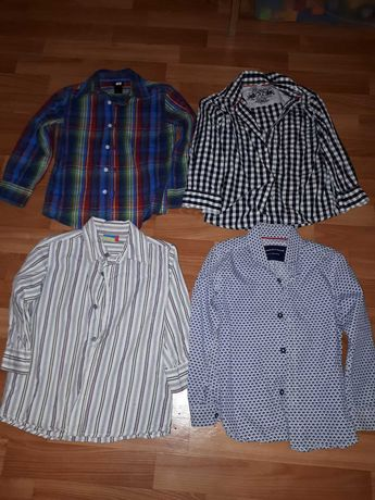 Рубашки фирменные лот на рост 104 -110