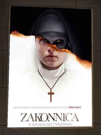 """""""Zakonnica"""" plakat filmowy"""