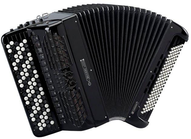 Akordeon guzikowy z konwertorem BUGARI 580/ARS/C