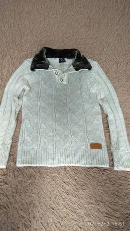 Мужской теплый свитер 48-50р