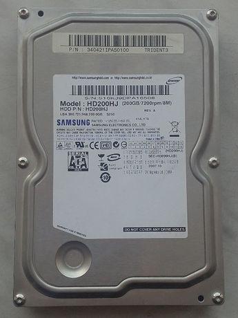 """Жесткий диск HDD Samsung 200GB 7200rpm 3.5"""" 8MB HD200HJ SATA II"""