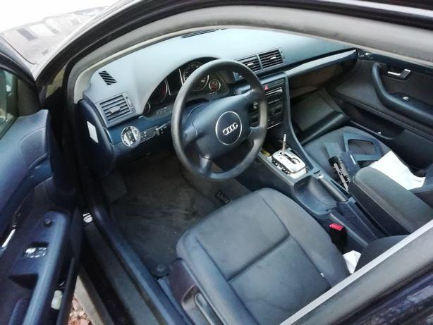 Audi a4 b6 konsola deska poduszki komplet