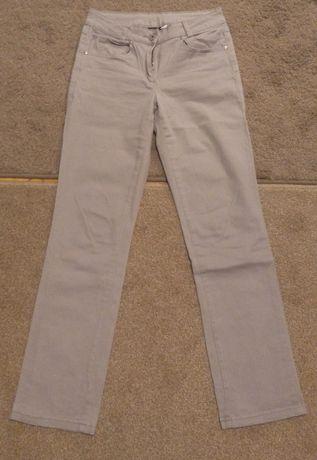 Szare spodnie jeansowe