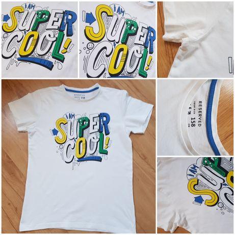 T-shirt, koszulka dla chłopca. Rozmiar 158cm. Firma Reserved.