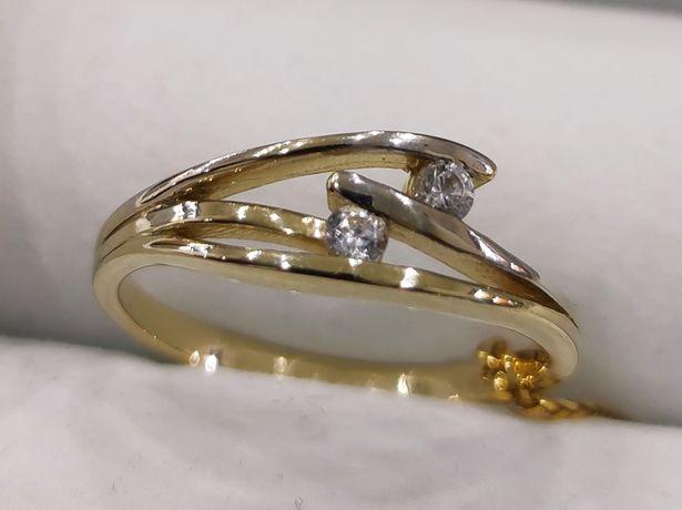 Złoty pierścionek od Goldrun SUPER CENA