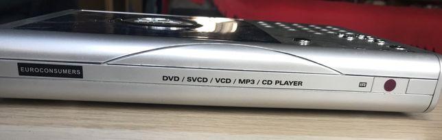 Leitor DVD portátil (funcional)
