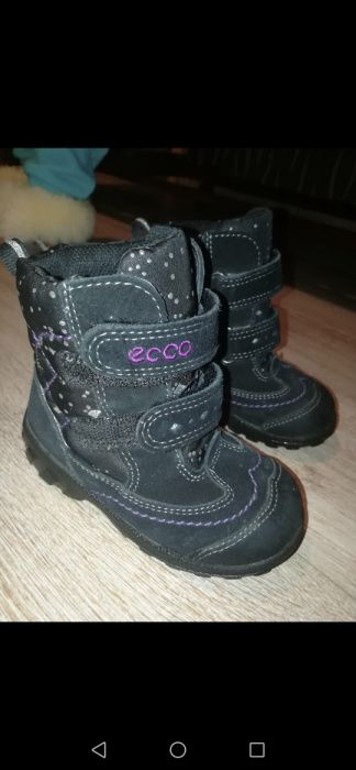 Термо ботиночки Ecco Киев - изображение 1