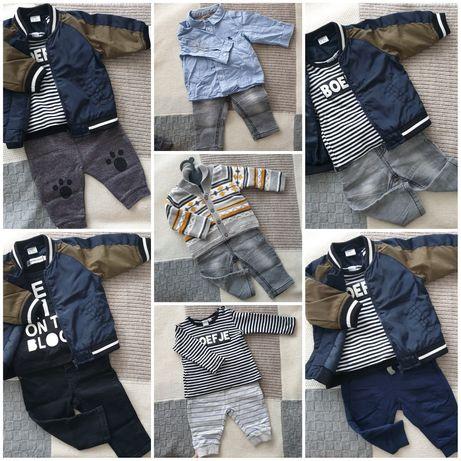 Штаны,кофта,джинсы 3-6 месяцев ,62 размер,68 размер.Набор вещей