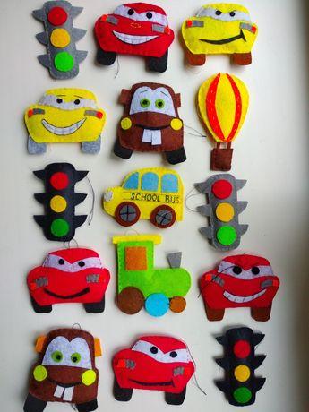 Игрушки развивающие пальчиковый театр из фетра фетровые подарки