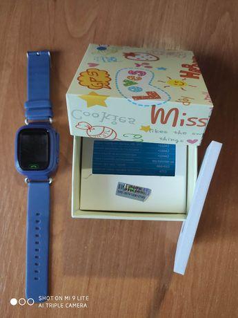Смарт часы, Smart Baby Watch Q90s GPS- трекером.