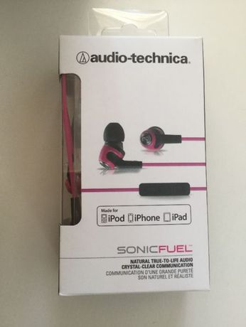 Наушники ATH-CK323i white/pink (iPhone, iPad, iPod)