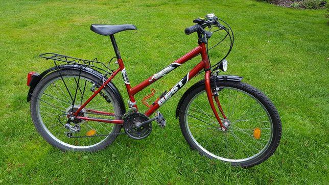 Rower KROSS Best City Junior - mało używany