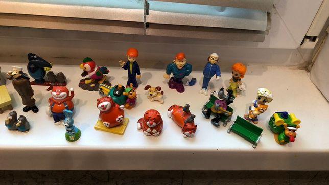 Продам киндер игрушки Простоквашино, Попугай Кеша, богатыри