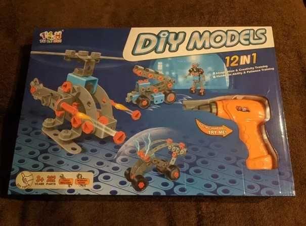 Конструктор детский Models 12в1 на 282 деталей Div большой