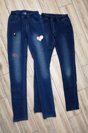 Spodnie dżinsy roz. 152 i 158