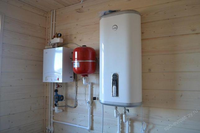 Замена отопления, монтаж труб, установка котлов, отопление дома