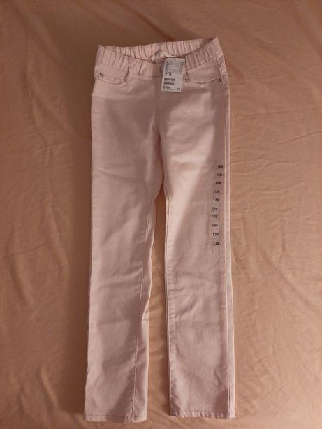 Spodnie jeansowe 128