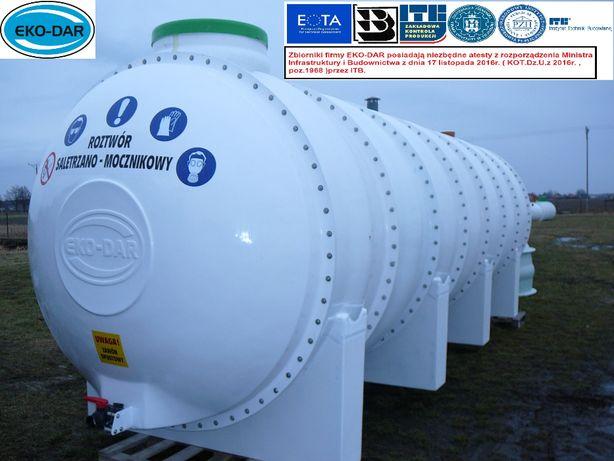 Zbiornik naziemny na nawozy płynne rsm wode solanke deszczówkę 20,7m3