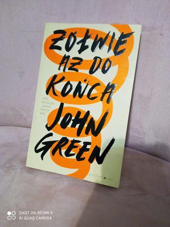 żółwie aż do końca john green książka młodzieżowa książki