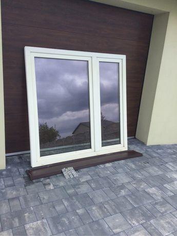 Okno plastikowe 157x154
