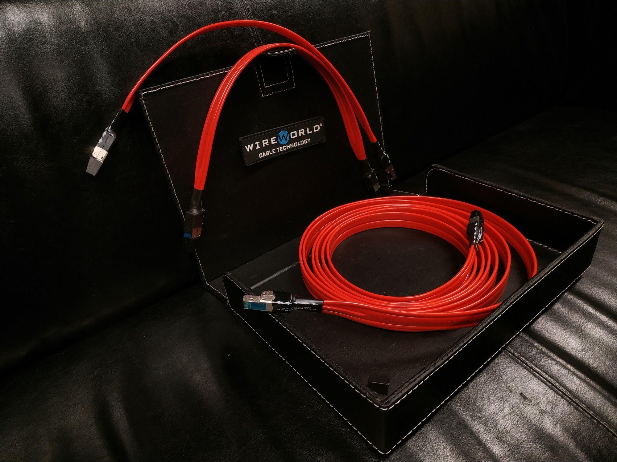 Wireworld Starlight Ethernet CAT8 CAT 8 na wymiar konfekcja kabli