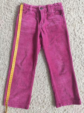 Welurowe spodnie Smyk Cool Club roz. 104cm