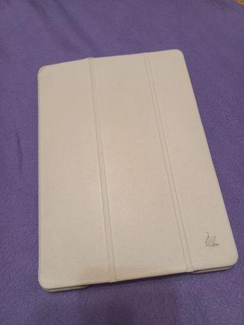 Чехол кожаный белый на iPad Air2 планшет 9,7