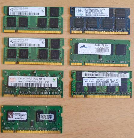 Memorias ram portatil computador ddr pc2 pc3 samsung hynnix nanya