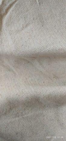 Ветошь х/б протирочная для уборки, полотно для мытья полов, салфетка