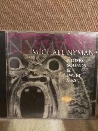 płyta Michael Nyman Noises, sounds &sweet airs