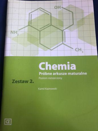 Chemia próbne arkusze maturalne Kaznowski poziom rozszerzony