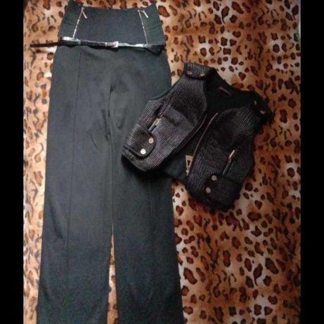 Angel provocation брючный костюм от кутюрье брюки жилет высокой 46-48р