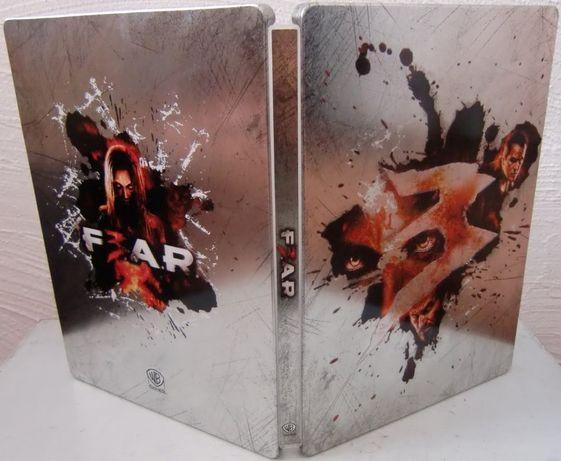 FEAR 3 F3AR - Unikat SteelBook Kolekcjonerski - Jak NOWY Stan IDEALNY