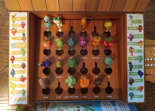 Stikeez owoce i warzywa - gra + 18 figurek