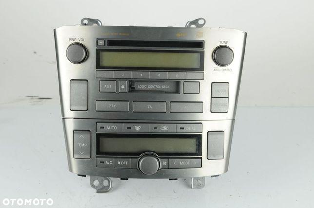 Radio panel klimatyzacji 86120-05080 Toyota Avensis T-25 2.0 D4d 116km 2003r